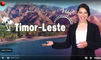 Honest Government Ad Timor Leste